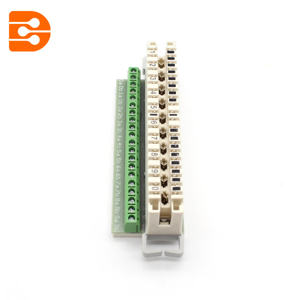 KRONE LSA Disconnection Module with Screw Terminal