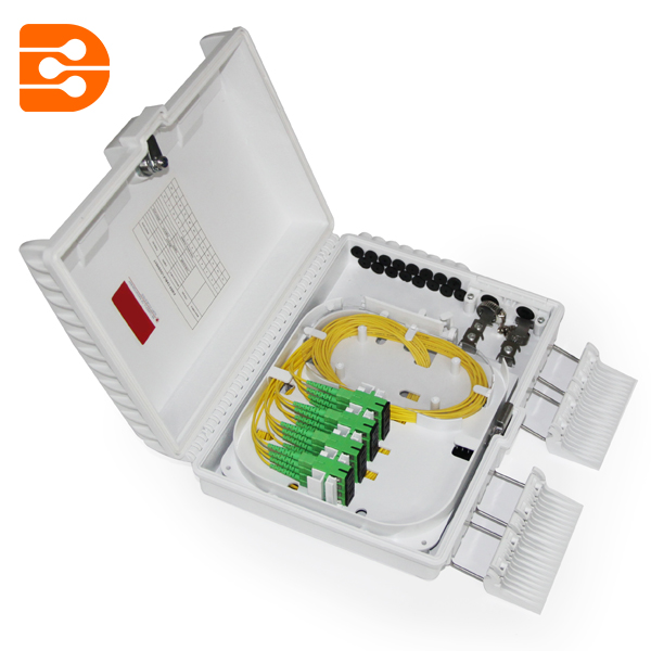 16 Fiber Outdoor Fiber Optic Distribution Box