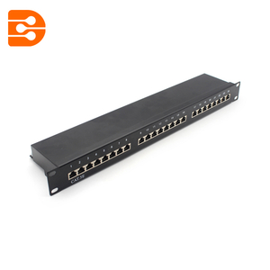 24 Ports CAT. 5E&6 FTP Patch Panel