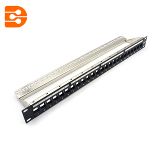 Cat.6A FTP 24 Ports Patch Panel
