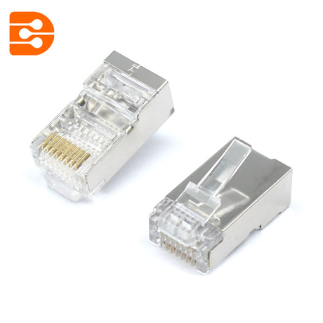 Quick Install RJ45 Shielded CAT5E Connector
