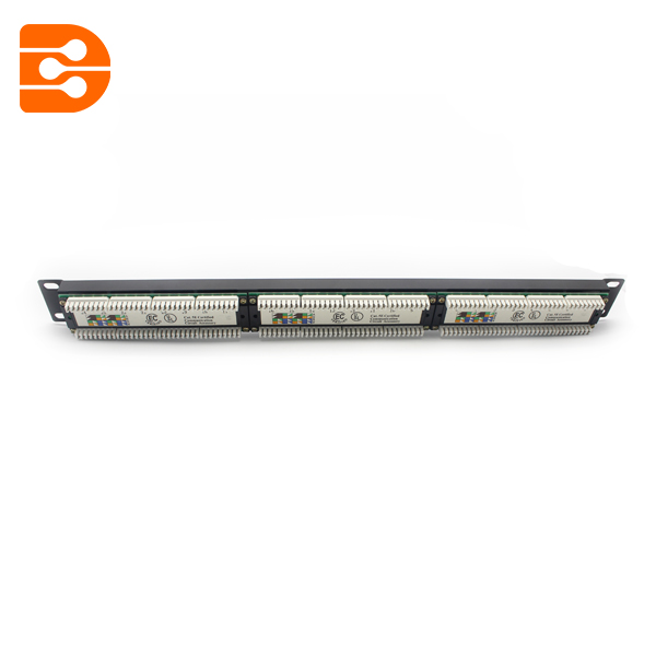 Cat.6 UTP 24 Ports Patch Panel