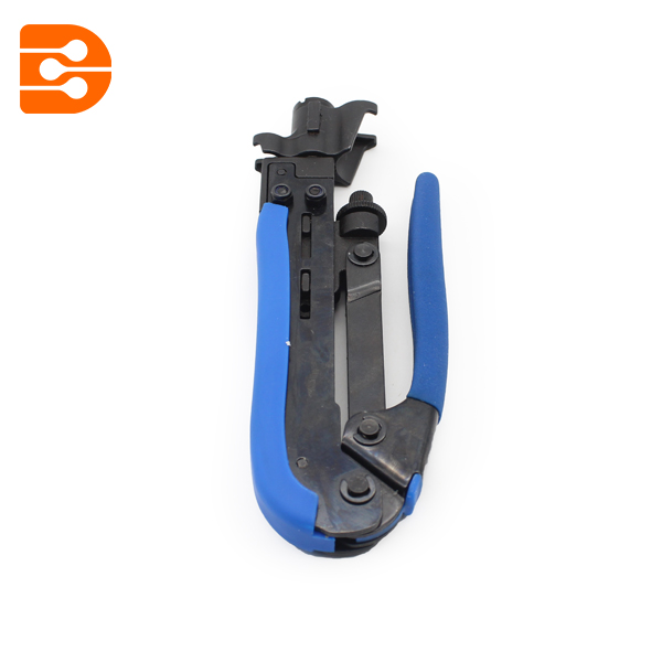 Crimping Tool For RG59 RG6 RG11 F Connector Compression