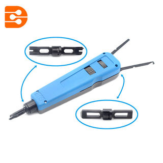 110 / 88 Punch Down Tool with Network Wire Cut For Cat5, Cat6 Cable