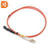 Duplex LC/PC to MTRJ/PC OM1 MM Fiber Optic Patch Cord