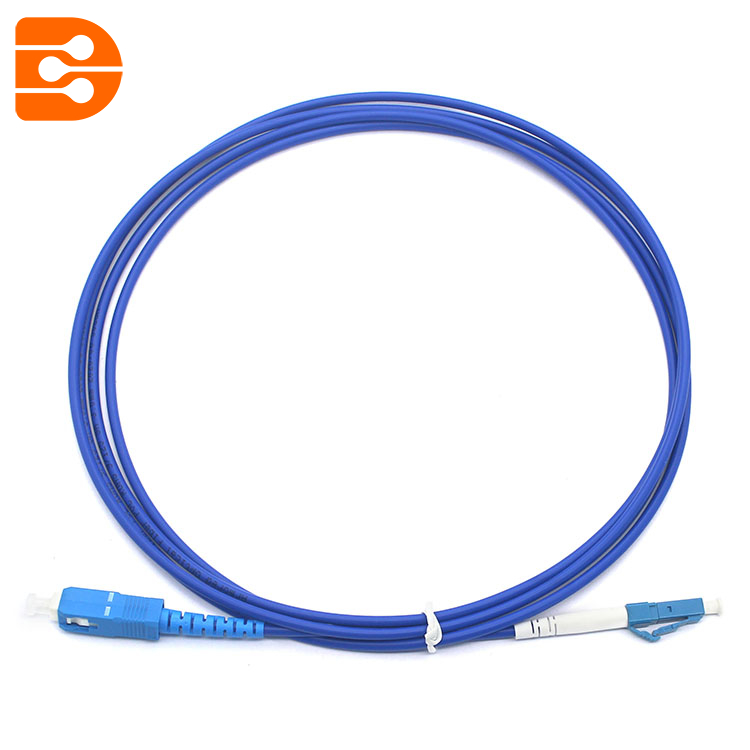 Simplex SC/UPC to LC/UPC SM Fiber Optic Patch Cord