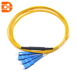SC/UPC 4 Fibers Fiber Optic Pigtail