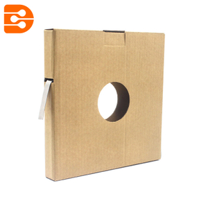 Stainless Steel Strap with Cardboard Box