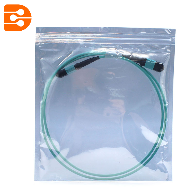 MPO to MPO OM3 MM Fiber Optic Patch Cord