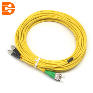 Duplex FC/UPC to FC/APC SM Fiber Optic Patch Cord