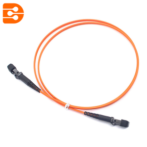 Duplex MTRJ/PC to MTRJ/PC OM1 MM Fiber Optic Patch Cord