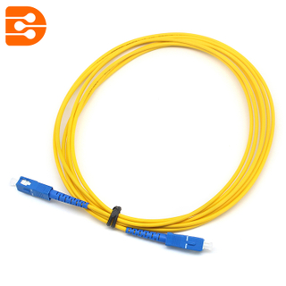 Simplex SC/UPC to SC/UPC SM Fiber Optic Patch Cord