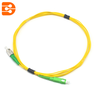 Simplex SC/APC to FC/APC SM Fiber Optic Patch Cord