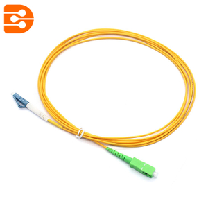 Simplex SC/APC to LC/UPC SM Fiber Optic Patch Cord