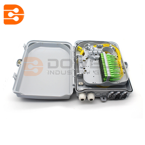 24 Core Outdoor FTTH Fiber Optic Splitter Distribution Box