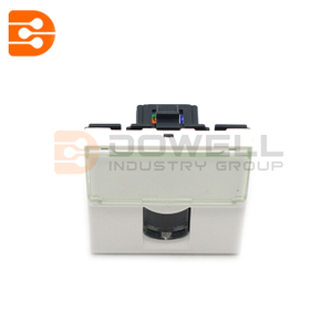 WHITE RJ 45 SOCKET MOSAIC LCS2 CAT. 6 FTP 1 MODULE