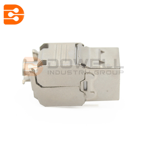 Cat6A Shielded High Density 180 Degree Keystone Jack