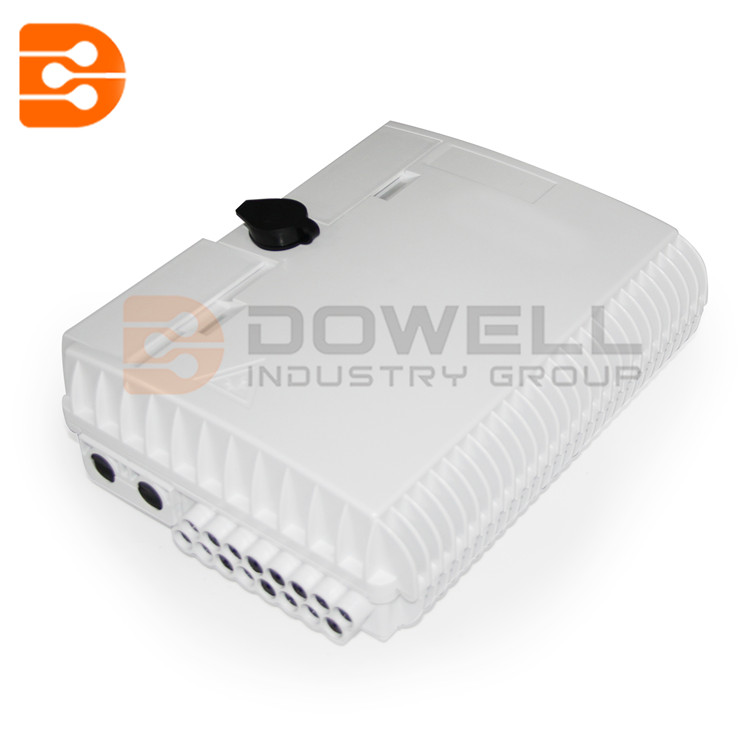 DW-1214 FTTH Outdoor Fiber optic termination box SM 16 Cores