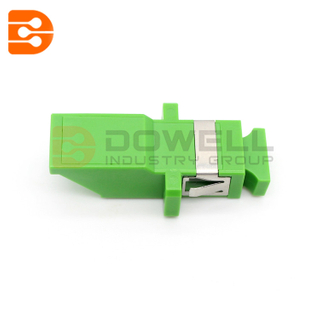 DW-SC-IS SC SX Inner Shutter Fiber Optic Adapter With Flange