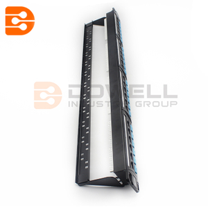 24 Port 0.5U Cat5e Patch Panel