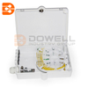 DW-1206 Outdoor 8 Cores Fiber Optic Terminal Box For Wall Mount And Pole Mount