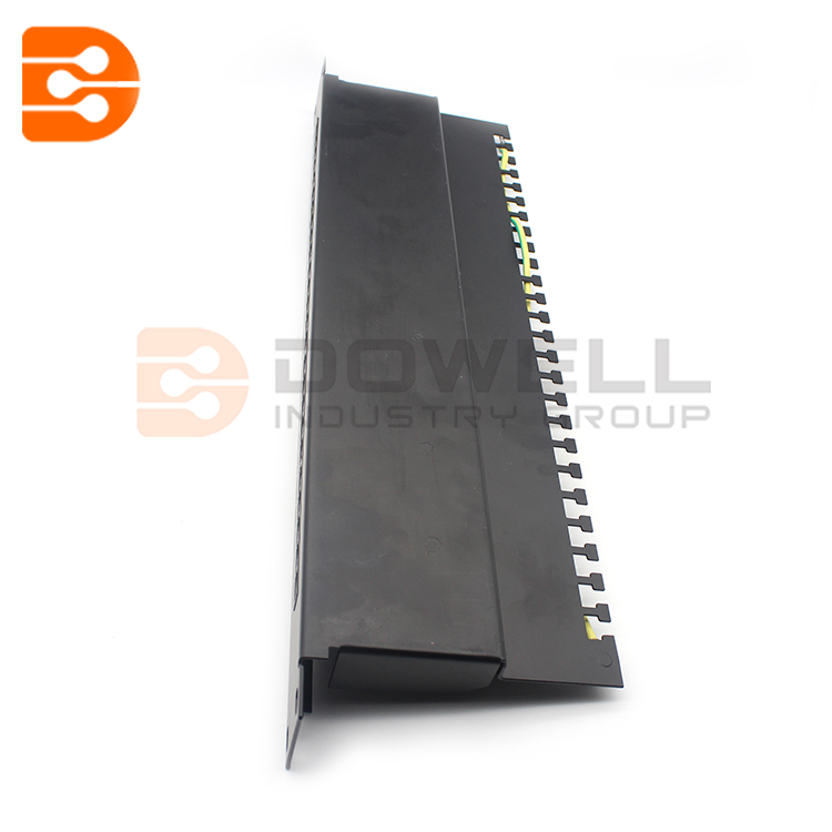25 ports CAT3 RJ11 telephone voice patch panel