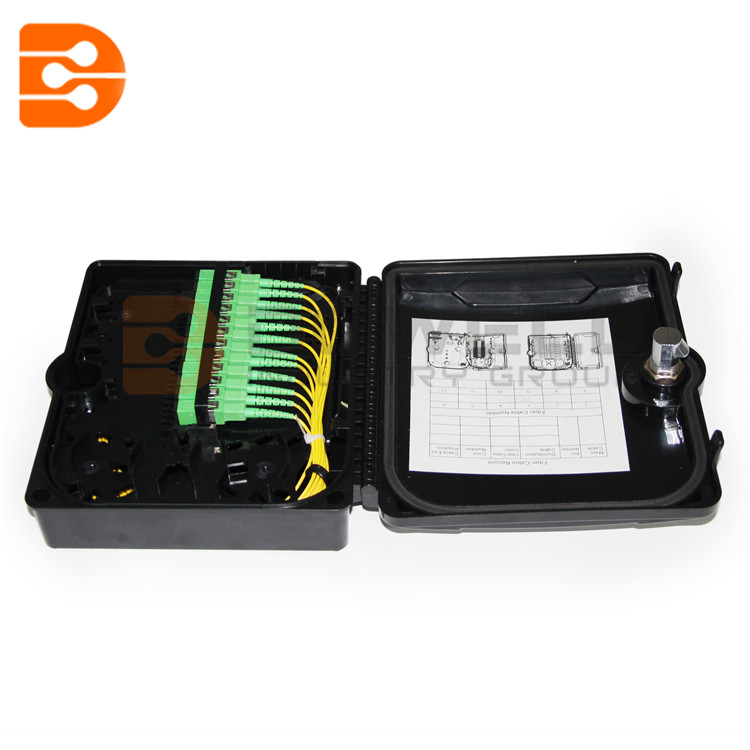 DW-1210 12 Core Outdoor FTTH Wall/Pole Mounted Fiber Optic Junction/Distribution Box