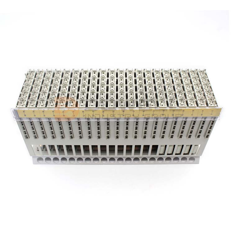 DW-6004 Great Quality Great Material MDF 100 Pairs Screwless Electric Terminal Block