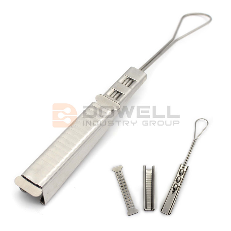 DW-1069 Exquisite Eco-Friendly Stainless Steel Fiber Adjustable Drop Wire Clamp