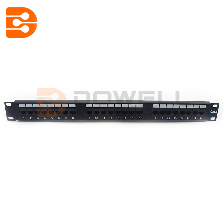 Cat6-UTP 24 Port Patch Panel