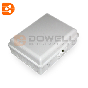 DW-1217 Outdoor FTTH Wall Mount Fiber Termination Box 24 Core , Optical Fiber Junction Box