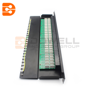 50-ports telephone voice patch panel 1U RJ11 patch panel