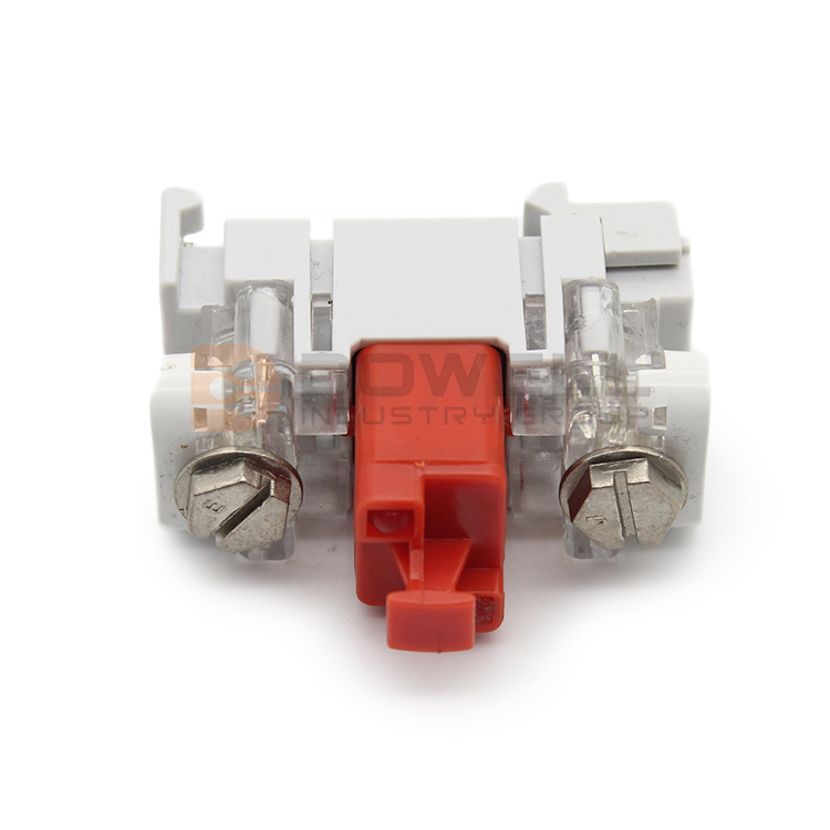 DW-5028 CE Certification Single Pair Drop Wire VX Module With GDT Protection