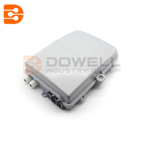 Outdoor 24 Way FTTH Telecom Fiber Optic Termination Distribution Box