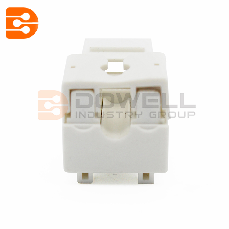 110 TYPE Electrical Plugs CAT6 STP 90 Degree Punch Down